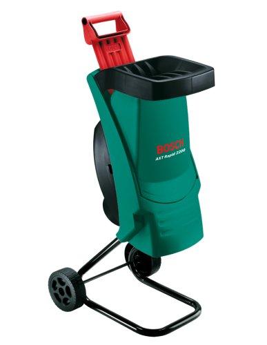 Bosch Häcksler AXT Rapid 2200 (2200 Watt, Materialdurchsatz 90 kg/h, max. Schneidekapazität-Ø 40 ...