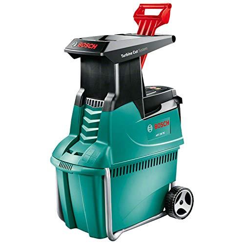 Bosch Häcksler AXT 25 TC (2500 W, Fangbox 53 Liter, Schneidekapazität: Ø 45 mm, im Karton)