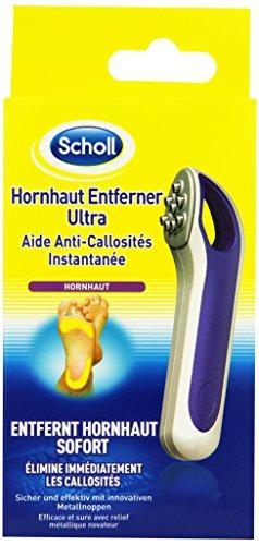 Scholl Hornhaut Entferner Ultra, gegen Hornhaut, schnell und effektiv, Fußpflege, 1er Pack (1 x 50 ...
