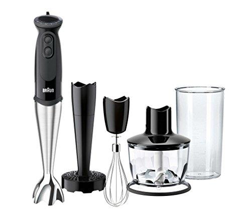 Braun MultiQuick 5 Vario MQ 5137 Sauce Plus Stabmixer, 750 W, Zerkleinerer (500 ml), Kartoffel- und ...