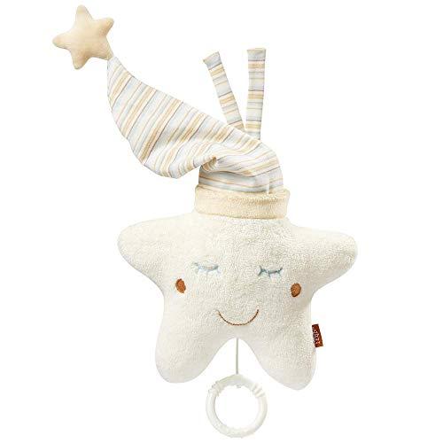 Fehn 154566 Spieluhr Stern – Aufzieh-Spieluhr mit herausnehmbarem Spielwerk zum Aufhängen an Bett...