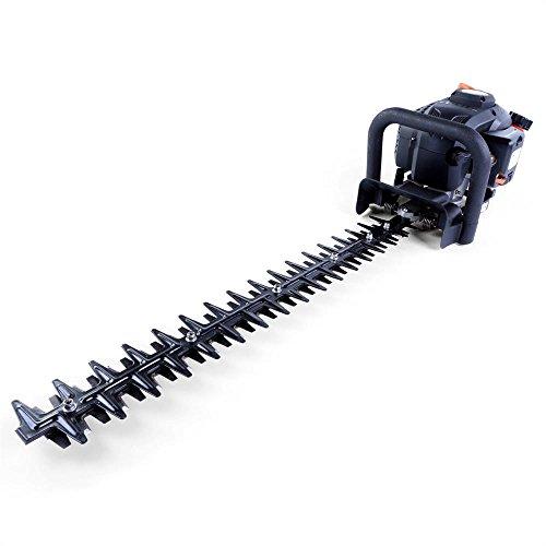 Fuxtec Benzin Heckenschere FX-MH126, mit 60 cm Schwert, Heckenscheren hs, gewählt zum Testsieger un...