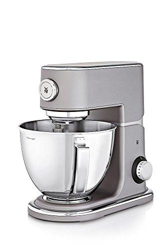 WMF Profi Plus Küchenmaschine mit 5l-Schüssel, Softanlauf, Planeten-Rührwerk, 8-stufige Knetmasch...