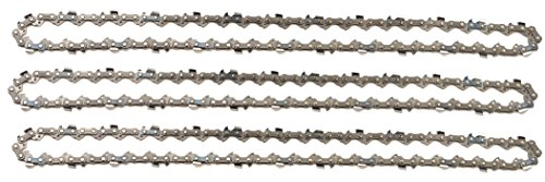 "3 tallox Sägeketten 3/8"" 1,1 mm 52 TG 35 cm Schwert kompatibel mit Oregon Makita Bosch"
