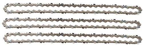 """3 tallox Sägeketten 3/8"""" 1,3 mm 52 TG 35 cm Schwert Vollmeißel kompatibel mit Oregon Bosch Dollmar..."""