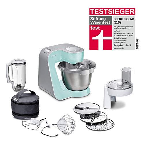 Bosch MUM5 CreationLine Küchenmaschine MUM58020, vielseitig einsetzbar, große Edelstahl-Schüssel ...
