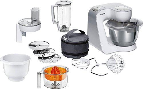 Bosch MUM5 CreationLine Küchenmaschine MUM58243, vielseitig einsetzbar, große Edelstahl-Schüssel ...