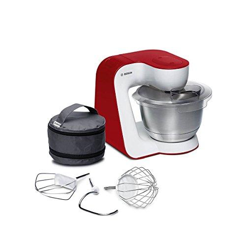 Bosch MUM5 StartLine Küchenmaschine MUM54R00, vielseitig einsetzbar, große Edelstahl-Schüssel (3,...