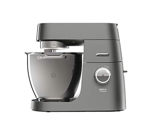 Kenwood Chef XL Titanium KVL8320S Küchenmaschine, 6,7 l Edelstahl Schüssel mit Innenbeleuchtung, I...