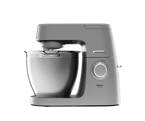 Kenwood Chef XL Elite KVL6320S Küchenmaschine, 6,7 l Edelstahl Rührschüssel, Interlock-Sicherheit...