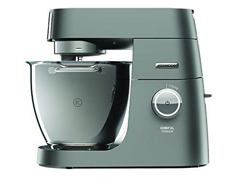 Kenwood Chef XL Titanium KVL8300S Küchenmaschine, 1.700 W, 6,7 l Füllmenge, 5-teiliges Patisserie-...