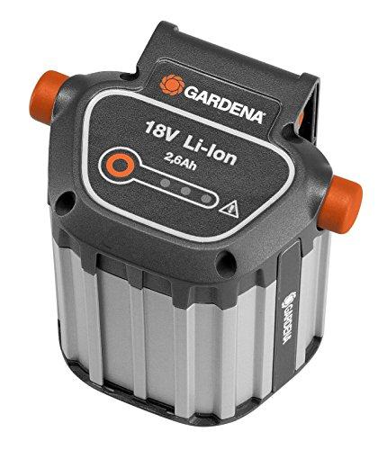 Gardena System Akku BLi-18: Zubehör für viele Gardena Trimmer, Bläser und Heckenscheren, 18 V Akk...