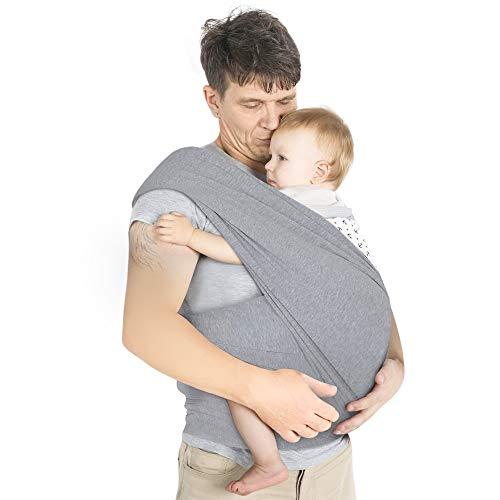 Lictin Babytragetuch Kindertragetuch Babybauchtrage Sling Tragetuch für Baby Neugeborene Innerhalb ...