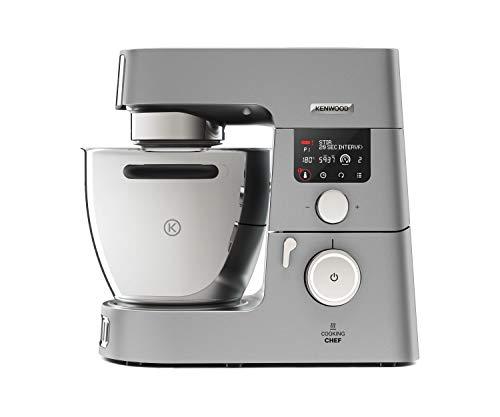 Kenwood Cooking Chef Gourmet KCC9060S Küchenmaschine (mit Kochfunktion, Induktionskochfeld von 20, ...
