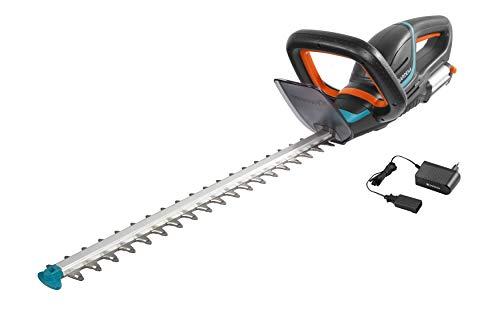 Gardena Set Akku-Heckenschere Set ComfortCut Li-18/50: Heckenschneider mit ergonomischem Griff und A...