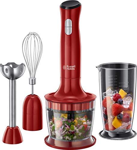 Russell Hobbs Stabmixer 3-in-1 Desire (Zerkleinerer, Mixer- & Schneebesenaufsatz), BPA-freies & spü...