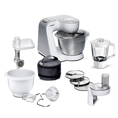 Bosch MUM5 CreationLine Küchenmaschine MUM5824C, vielseitig einsetzbar, große Edelstahl-Schüssel ...
