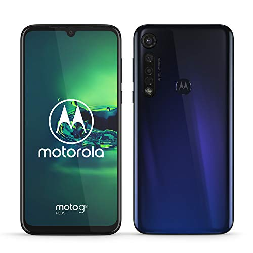 moto g8 plus Dual-SIM Smartphone (6,3 Zoll-Max vision-Display, 48-MP-Quad-Pixel-Triple-Kamera, 64 GB...