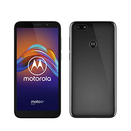 moto e6 play Dual-SIM Smartphone (5,5-Zoll-Max Vision-HD+-Display, 13-MP-Dual-Kamera, 32 GB/2 GB, An...