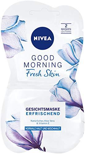 NIVEA Good Morning Fresh Skin Gesichtsmaske im 1er Pack (1 x 15 ml), erfrischende Gesichtspflege Mas...