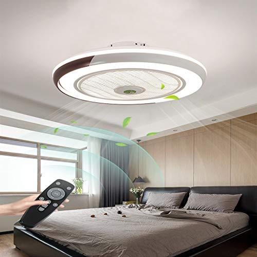 Fan Deckenleuchte Kreative Moderne Deckenleuchte LED Dimmbar Deckenventilator Mit Beleuchtung Und Fe...