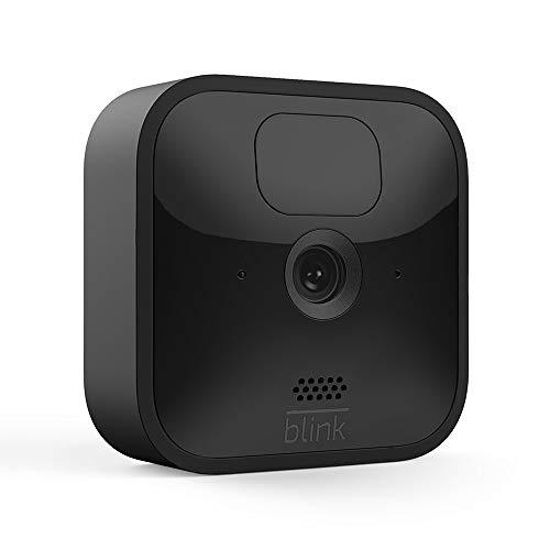 Die neue Blink Outdoor – kabellose, witterungsbeständige HD-Sicherheitskamera mit zwei Jahren Bat...