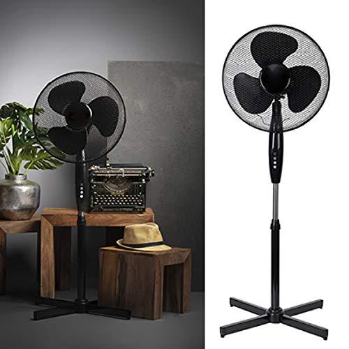 Ventilator Standventilator 40 cm Durchmesser, 3 Laufgeschwindigkeiten 90 Watt Klimagerät Gebläse S...