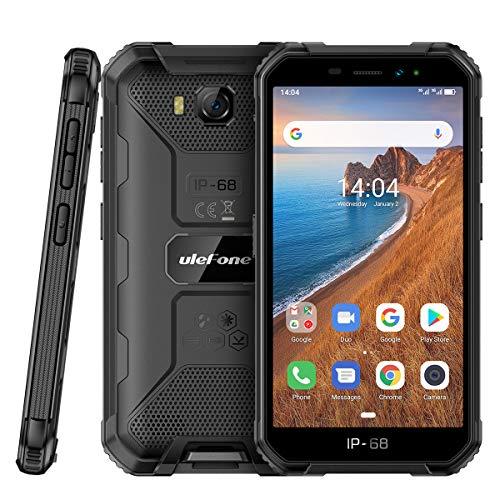 Outdoor Handys ohne Vertrag Günstig, Ulefone Armor X6 Smartphones Wasserdicht Android 9.0, 5.0 Zoll...