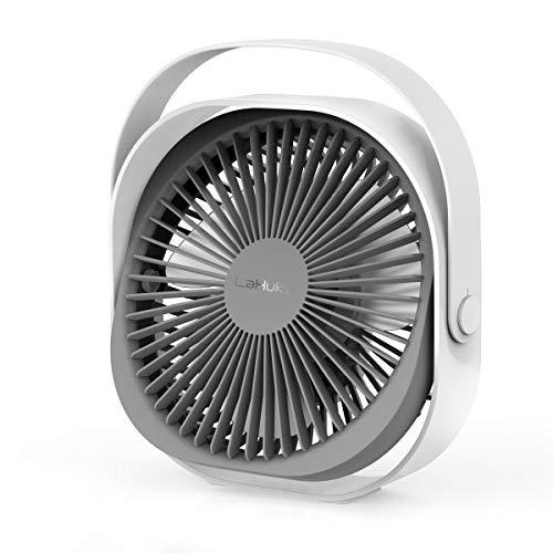 LaHuko tragbarer Ventilator Tischventilator,FAN,Wandventilator,3 Geschwindigkeiten,Luftkühler,Einfa...