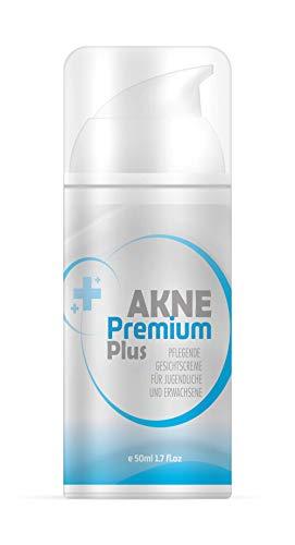 Akne Premium Plus Creme | Gesichtscreme für Jugendliche und Erwachsene | Anti Pickel und Mitesser |...