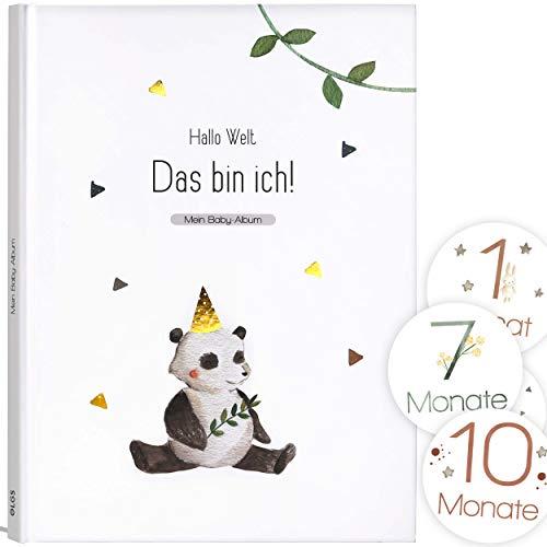 Mein Babyalbum Lino - Das bin ich! Babytagebuch für Neugeborene Junge/Mädchen 1. Jahr bis Kinderga...